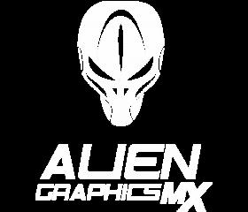 Alien Logo E Shop Baltas